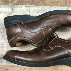 Johnston And Murphy Brown Leather Dress Shoes